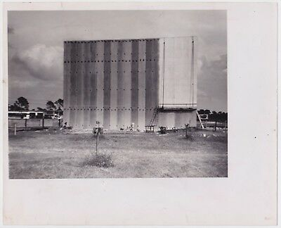 DRIVE-IN MOVIE THEATER Concrete Construction *VINTAGE 1960 ICONIC Southern photo