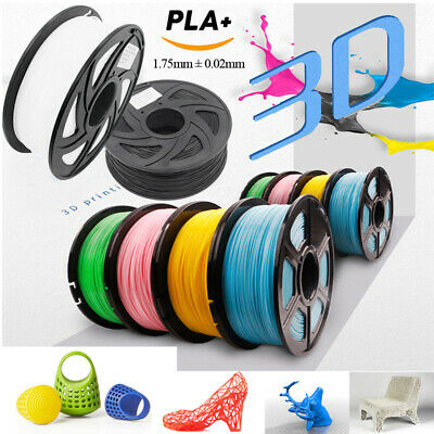 Pro 3D Printer Filament PLA - 1.75mm -1KG (330M)- Various Colours Available UK