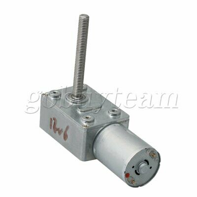 6RPM Turbo Worm Geared Motor for Amusement Equipment DC 12V JGY370