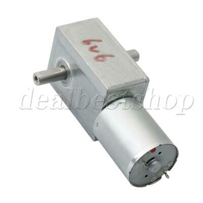 JGY370 Metal 23RPM Turbine Gearbox Electric Worm Gear Reduced DC Motor
