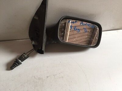 Fiat 500X Right Hand Offside Mirror Base Black Trim New Genuine 735604652