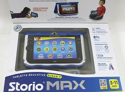 Storio Max 7 Tablette éducative Avec Camera Vtech 166805