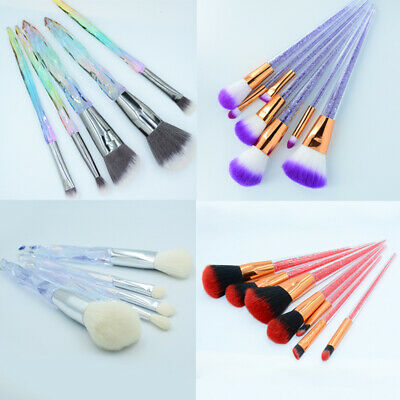 Latest Make up Brushes Set Candy Diamond Cosmetic Kabuki Eyeshadow Makeup Tools