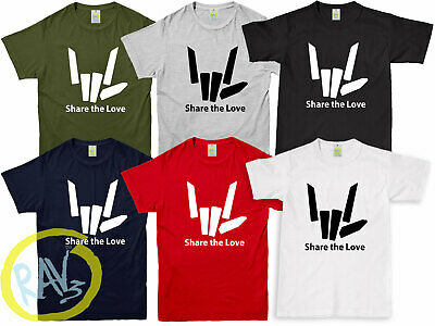 SHARE THE LOVE Tshirt Tee Top Youtuber Youtube Adults Kids All Sizes All Colours