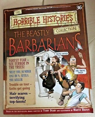 The Horrible Histories Collection Magazine #36  Beastly Barbarians - Forest Fear