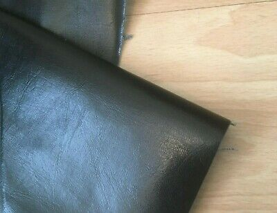 Faux Leather Vinyl Upholstery Leatherette Fabric Material 1/2  Metre