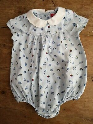 Little Bird Jools Mothercare Boys Girls Summer dungarees Romper 6-9 Months
