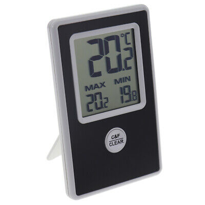 Digital Greenhouse Thermometer Max Min Indoor Wall Room Conservatory - In-158
