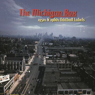 Various - The Michigan Box 1950s - 1960s Oddball Labels (10-CD Box) - Rock & ...