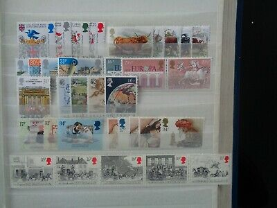 Great Britain 1984 Commemorative Stamps Year Set Mint Mnh 9 Sets 36 Stamps