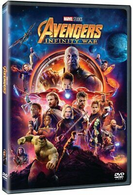 Avengers infinity war DVD New & Sealed Region 2 Fast & Free Delivery UK