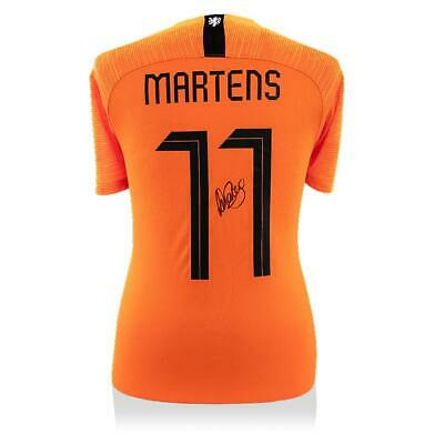 edf32f6ee Lieke Martens Back Signed Holland 2018 Home Shirt With Fan Style Numbers