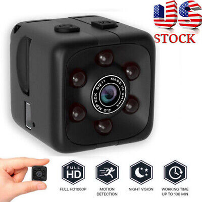 NEW Mini HD Hidden Camera Cam DVR Security Video Recording Motion Detection US*