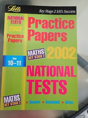 Letts Key Stage 2 SATs Success MATHS Age 10 - 11 Practice Papers 2002