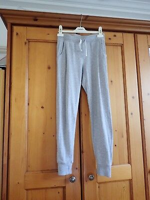 H&M Girls Grey jogging trousers   Age US 13 - 14 Years