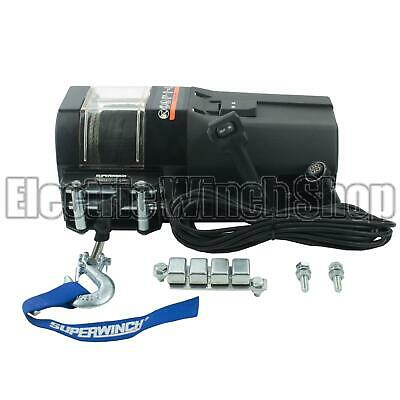 Superwinch S104413 S5000 12v Electric Winch with Synth Rope