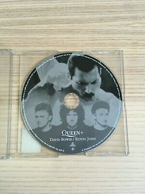 Queen+David Bowie/Elton John_Under Pressure,The Show Must Go On_CD SinglePROMO