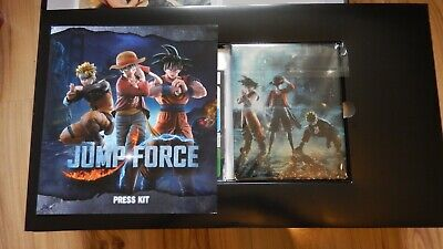 Jump Force PS4 Press Kit - Jump Force Collectors Edition Media Press Kit PS4 NEW