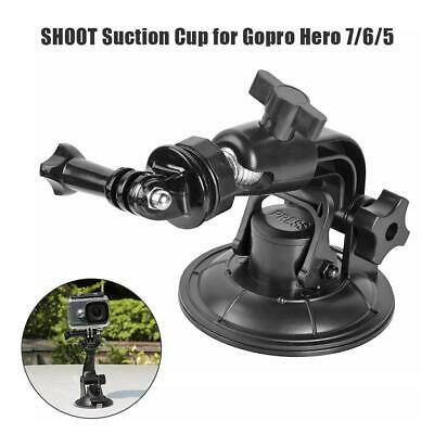 Low Angle Car Windshield Suction Cup Base Mount for GoPro Hero 7 6 5 Black #Z