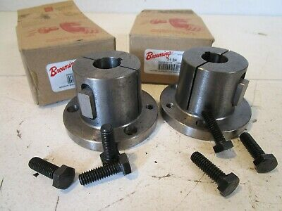 Browning P1 3/4 Split Tapered Bushing, P1 Series, 3/4 inch bore, Lot of 2