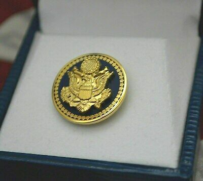 Authentic~High End~50 Star Senate Blue Democratic Lapel Pin~New Issue~Gorgeous!