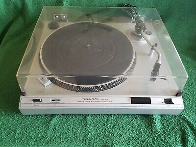 Realistic Lab-395 Direct Drive Automatic Turntable Tested