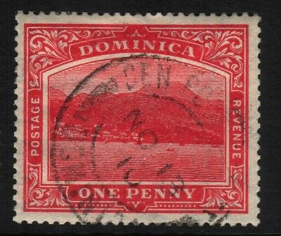 ~ Dominica, Used, #51, Great Centering