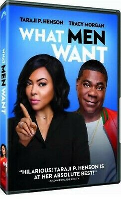 What Men Want (DVD) New* Comedy [2019] PRE-SALE ships on 5/7/19