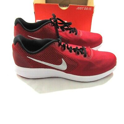 finest selection 726b7 3dc41 Nike Revolution 3 Running Men s Shoes - Red Silver - 819300-601 - Size 11.5