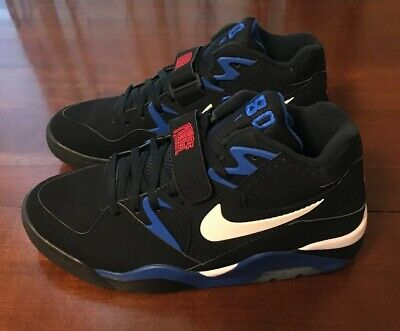 NIKE AIR FORCE 180 Barkley BlackBlue Men Size 10 And 11