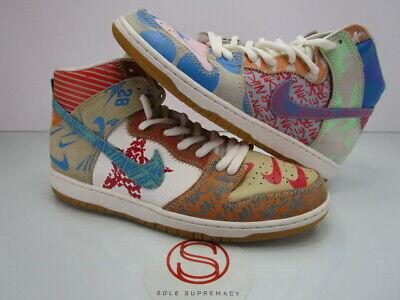 online store 8aa5c 8877f Nike Dunk High Premium SB THOMAS CAMPBELL WHAT THE 12