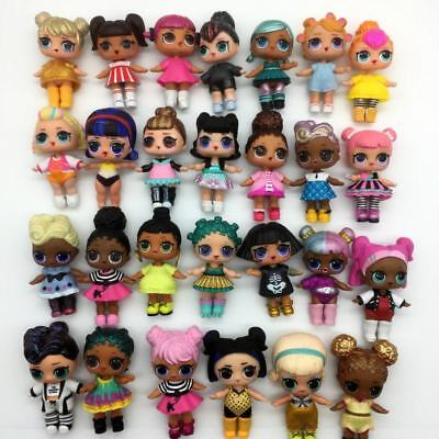 RANDOM 10Pcs LOL Surprise Doll big sister w/ outfit accessory -all different toy