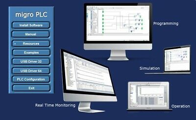 PLC Programmable Logic Controllers Software Virtual Automation Line Operation