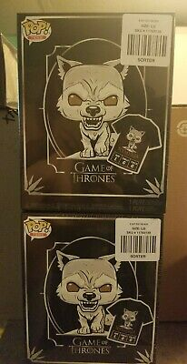 Funko Pop & Tee Game of Thrones Nymeria Hot Topic Exclusive IN HAND