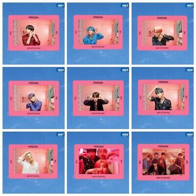 1pc Kpop BTS Bangtan Boys MAP OF THE SOUL : PERSONA New Album Photocard PVC Card