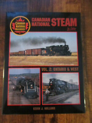 Canadian National Steam In Color / Vol.2: Ontario & West