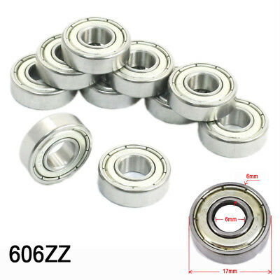 Pre-lubricated Roulements 606/608/623 /624/625/626/ 688/698/6000 / 6001zz