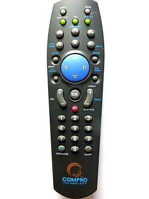 ORIGINAL COMPRO TECHNOLOGY Remote Control For Compro