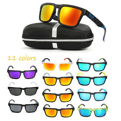 DUBERY Polarized Sunglasses Unisex Square Cycling Driving Fishing UV400 New-RA56