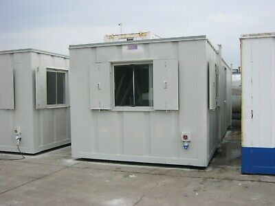32ft x 10f Anti Vandal Portable Cabin £3150+Vat site Office Shipping Container