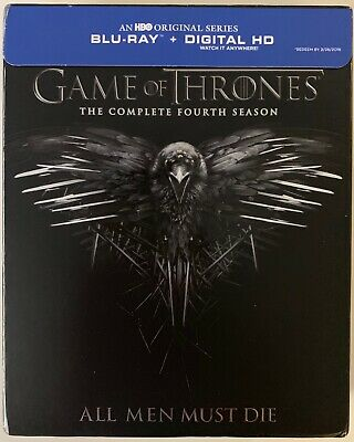 Hbo Game Of Thrones The Complete Fourth Season Blu Ray 4 Disc Digipack Slipcover
