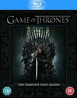 Game of Thrones - Season 1 [Blu-ray] [2012] [Region Free] By Sean Bean,Mark A.