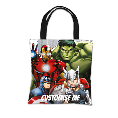 Avengers Assemble - Personalised Tote Bag (GROUP)