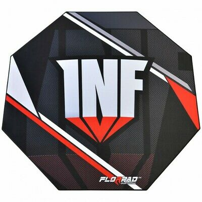 FlorPad Infamous Gamer-/eSports Protective Floor Mat - Soft Team