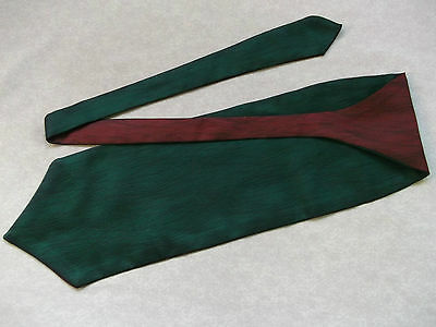 Ascot Cravat MENS Wedding Scrunchie Ruche One Size GREEN RED WINE