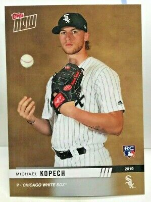 Michael Kopech 2019 Topps Now CHICAGO WHITE SOX Road To Opening Day RC#89 SP/311