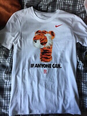 brand new eb461 f3ece Nike Tiger Woods Limited Edition T Shirt - Small - If Any One Can TW