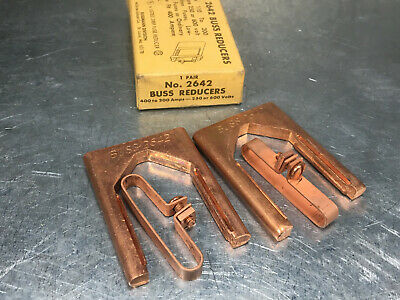 (1 Pair) Buss 2642 Blade Fuse Reducer 400A to 200A