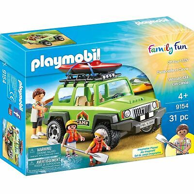 Playmobil 9154 Leisure Camp Off-Road Vehicle Outdoor Family Fun Toy