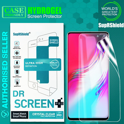 Samsung Galaxy S10 5G Plus S10e SupRShield HYDROGEL Full Cover Screen Protector